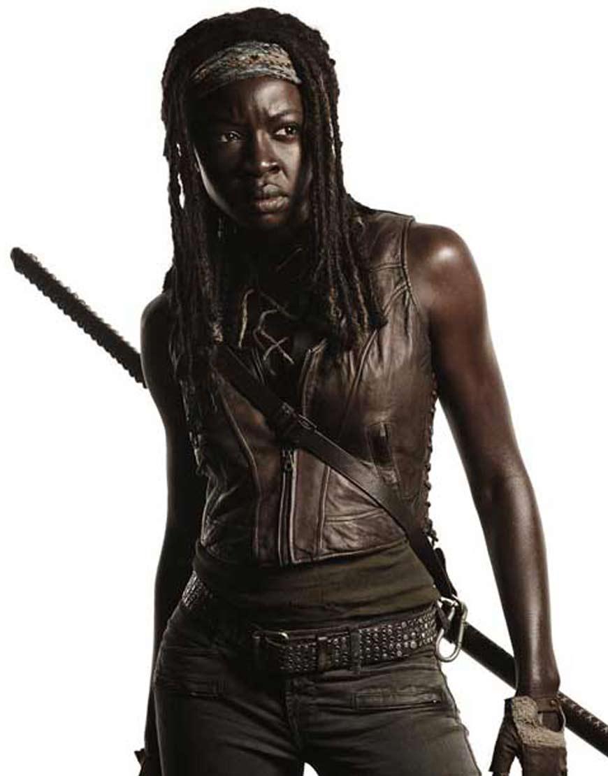 The-Walking-Dead-Michonne-Danai-Gurira-Vest