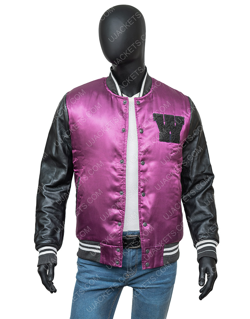 The Weeknd H&M Purple Jacket