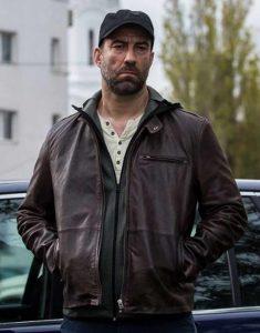 Umbre-Season-3-Serban-Pavlu-Brown-Leather-Jacket
