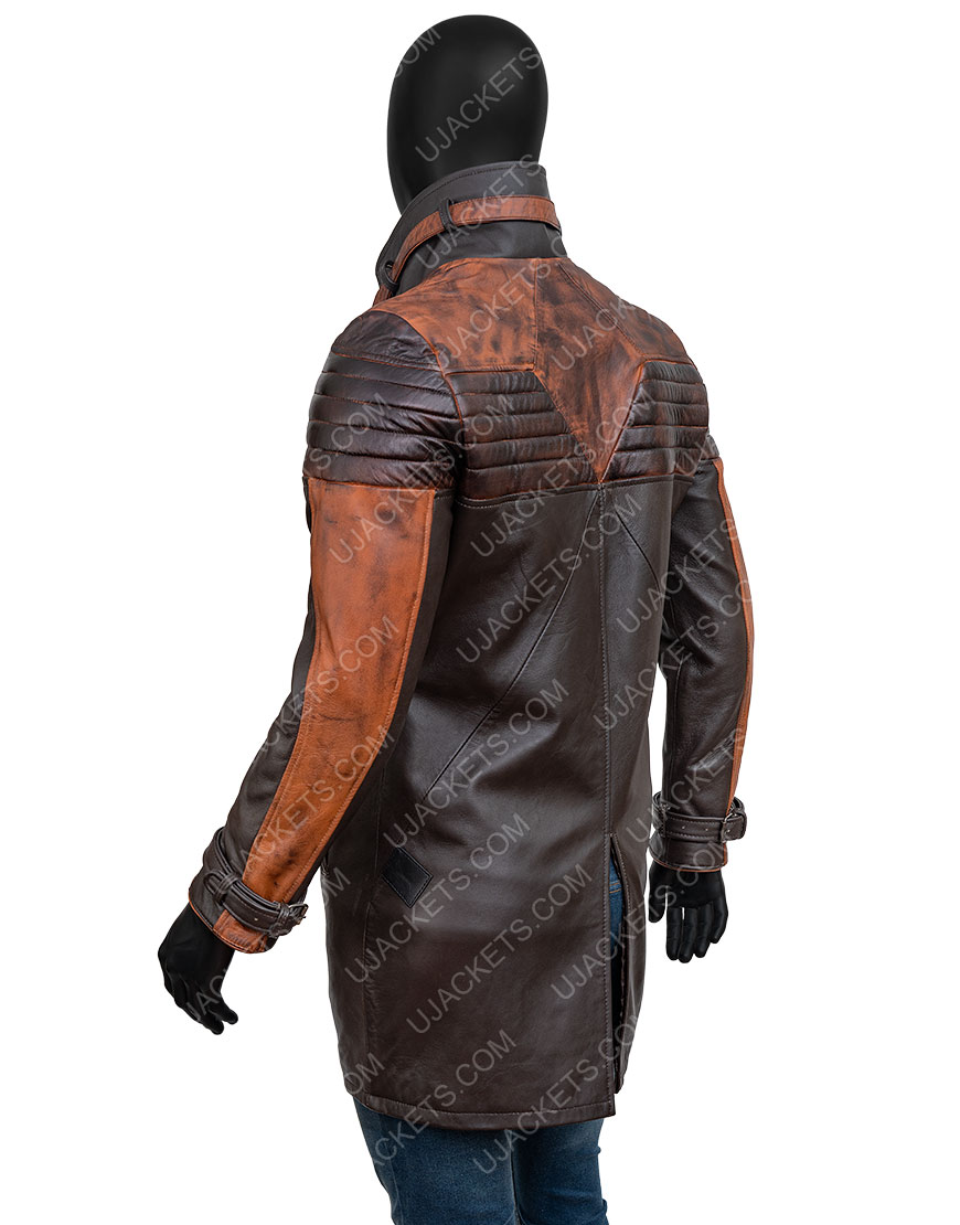 Video Game Watch Dogs 3 Legion Aiden Pearce Leather Coat