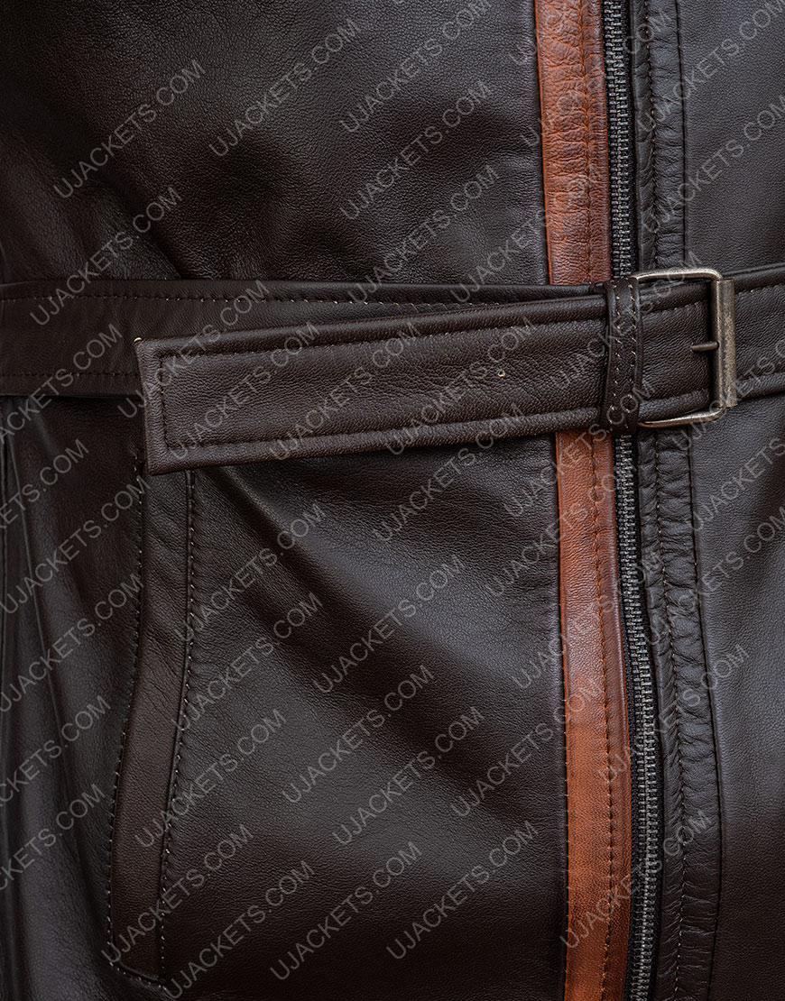 Video Game Watch Dogs Legion Aiden Pearce Leather Coat