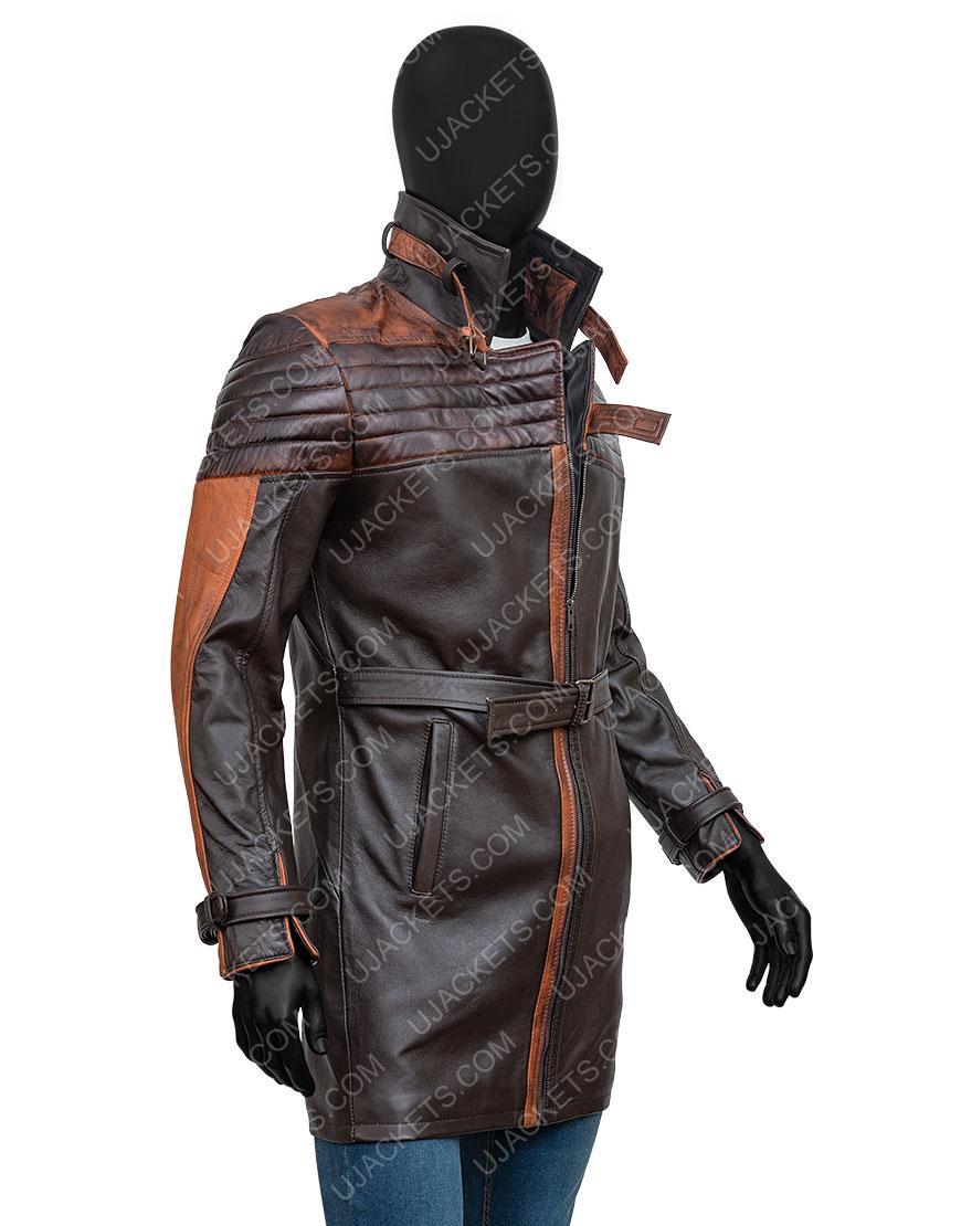 Watch Dogs 3 Legion Aiden Pearce Brown Coat