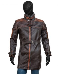 Watch Dogs 3 Legion Aiden Pearce Leather Coat