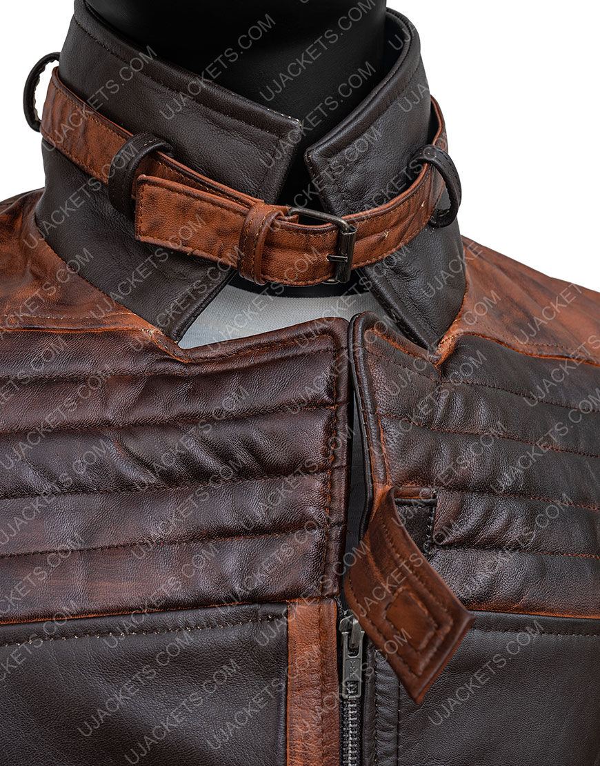 Watch Dogs Legion Aiden Pearce Leather Coat