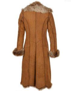 Womens-Novah-Brown-Fur-Long--Coat