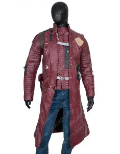 Yondu Guardians Of The Galaxy Vol 2 Maroon Trench Coat