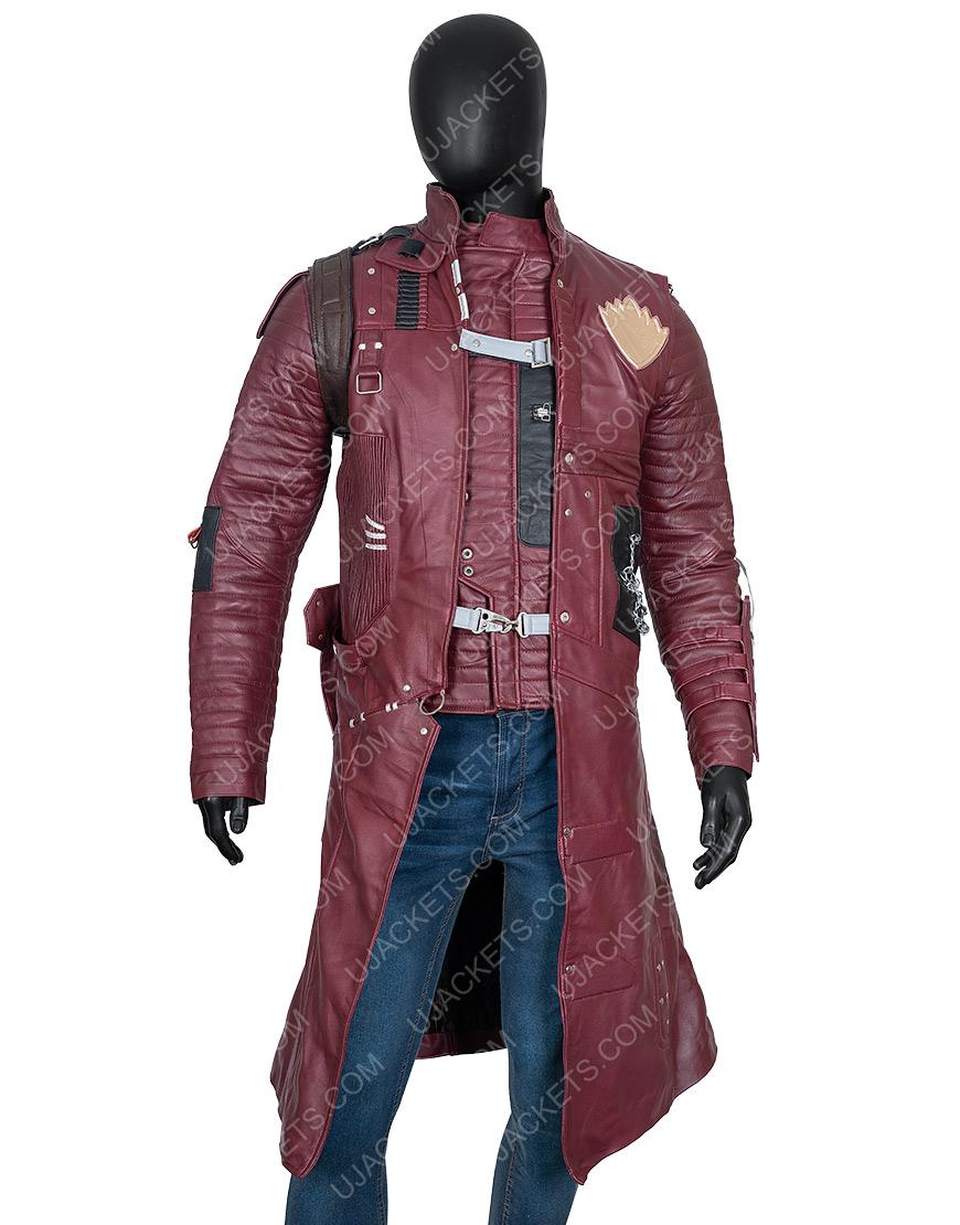 Yondu Guardians Of The Galaxy Vol 2 Maroon Trench Coat