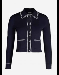 emily-In-Paris-Lily-Collins-navy-blue-Jacket