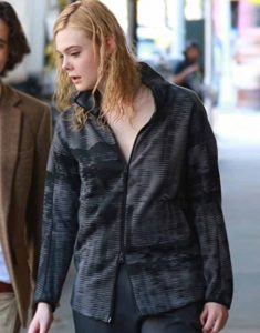 A-Rainy-Day-in-New-York-Elle-Fanning-Black-Jacket
