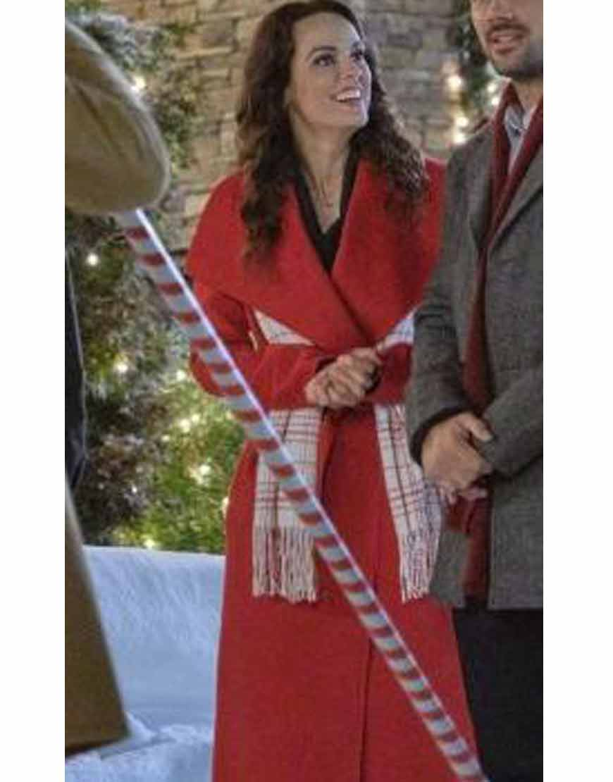 A-Timeless-Christmas-Erin-Cahill-Megan-Red-Trench-Coat