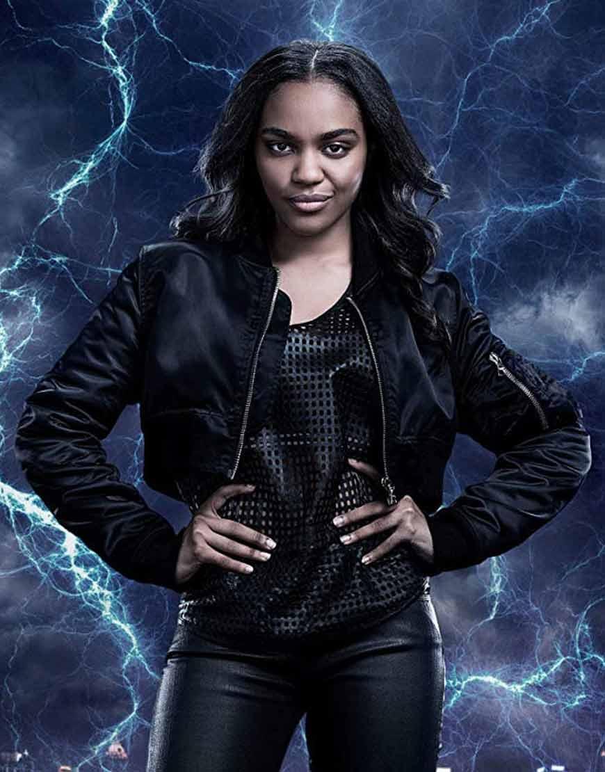 Black-Lightning-Jennifer-Pierce-Black-Leather-Jacket