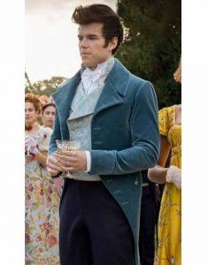 Bridgerton-Luke-Newton-Blue-Tail-Coat