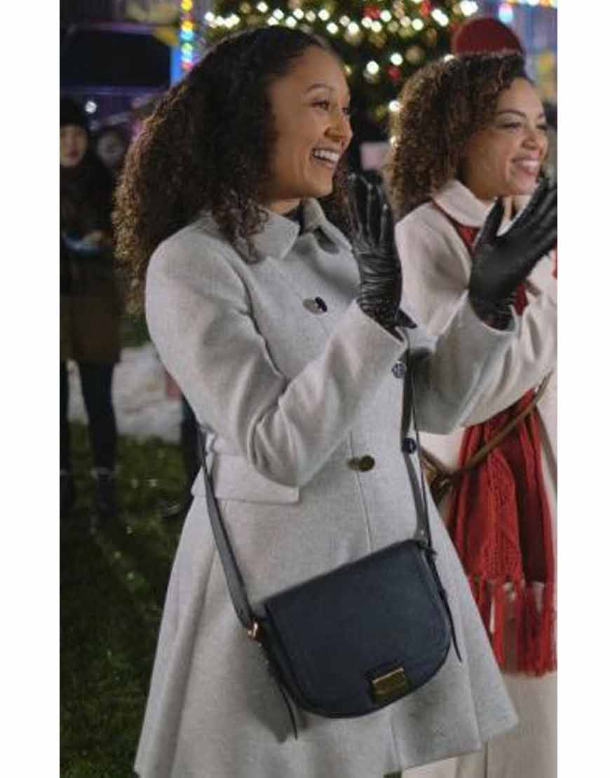 Christmas-Comes-Twice-Tamera-Mowry-Housley-Grey-Coat