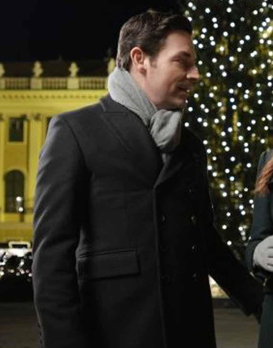 Christmas-in-Vienna-Brennan-Elliott-Black-Wool-Blend-Coat