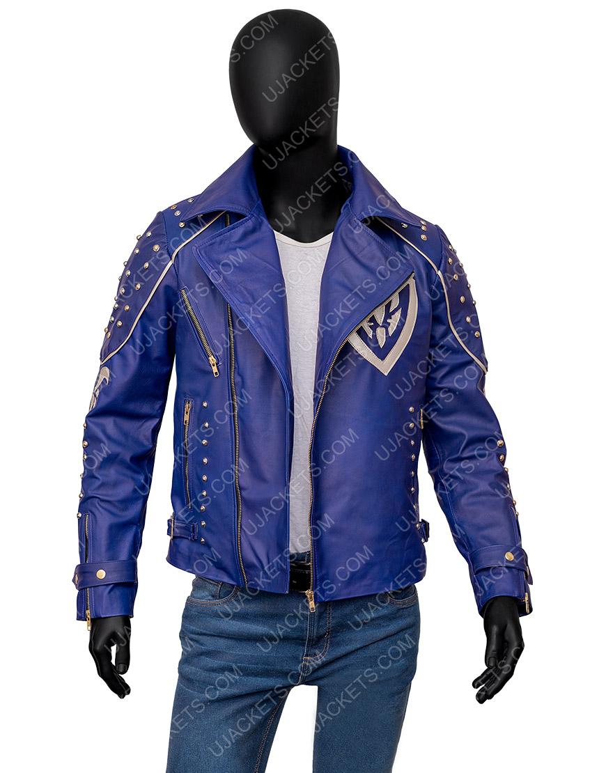 Descendants 2 King Ben Studded Leather Jacket