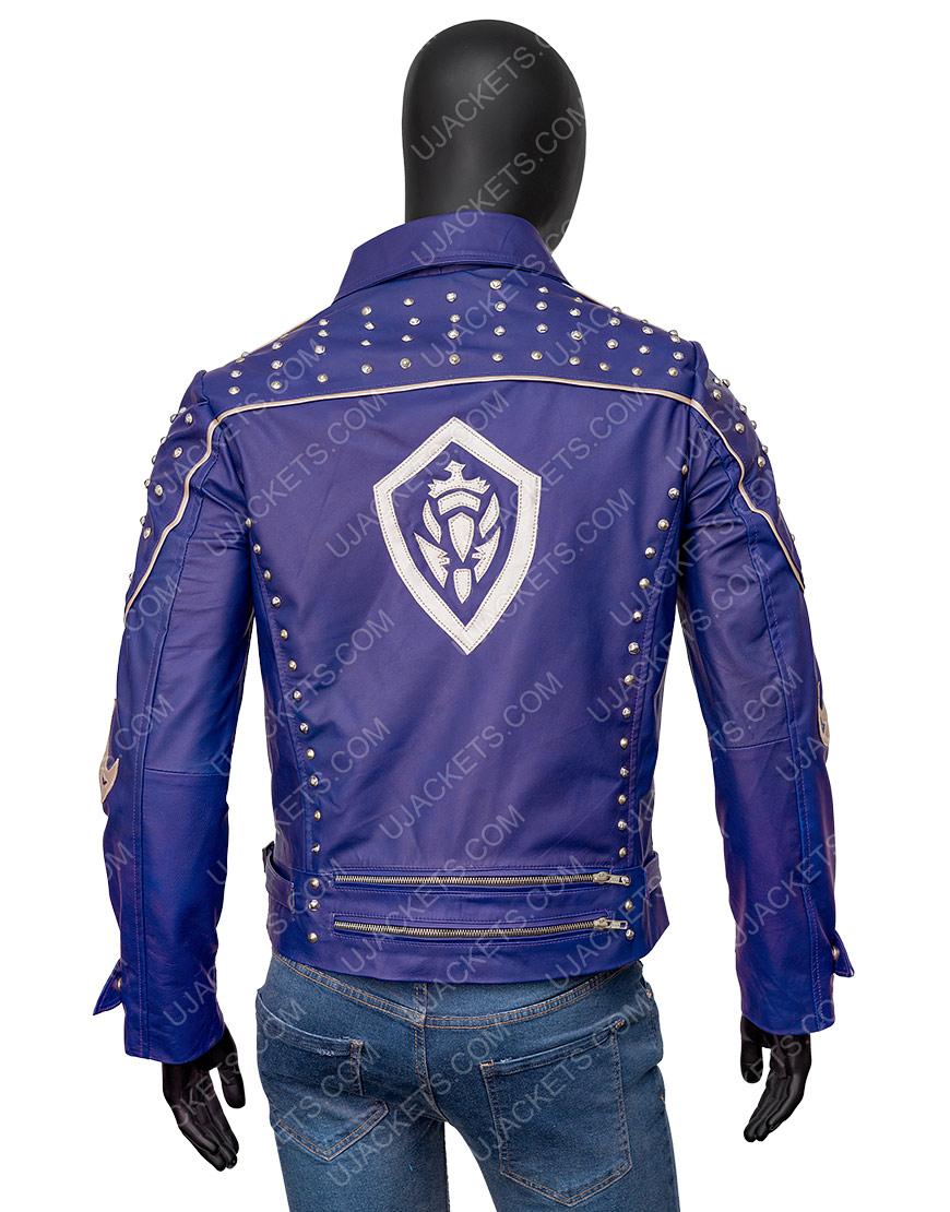 Descendants 2 King Ben Studded Purple Jacket