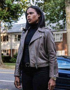 FBI-Most-Wanted-Roxy-Sternberg-Leather-Jacket