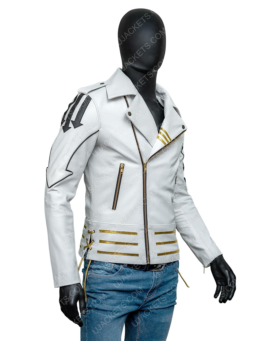 Freddie Mercury Queen Leather Motorcycle Hot Space Jacket