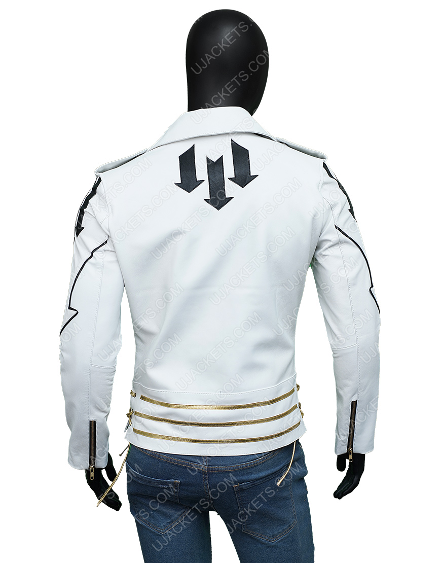 Freddie Mercury Queen Motorcycle Hot Space Jacket