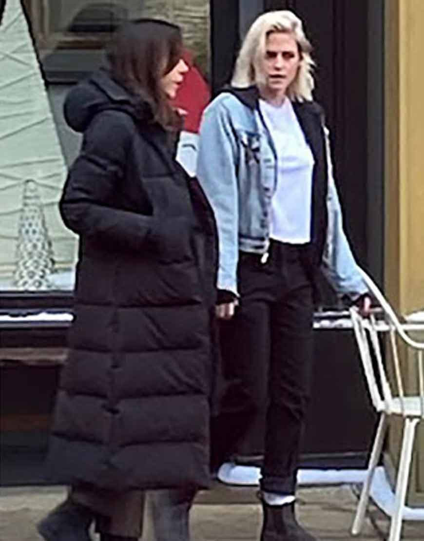 Happiest-Season-Aubrey-Plaza-Hooded-Puffer-Coat