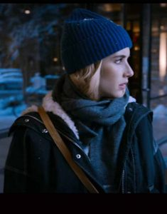 Holidate-2020-Emma-Roberts-Jacket-Shearling-Trim