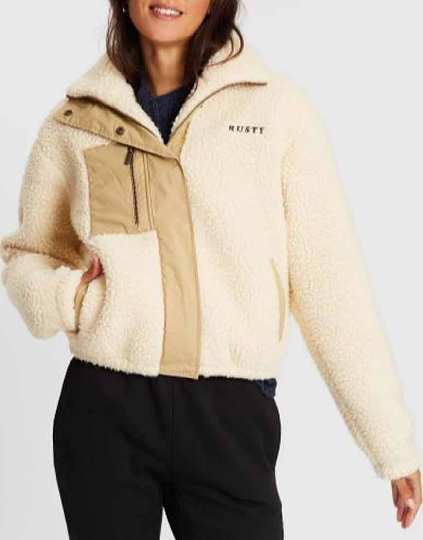 Home-and-Away-Courtney-Miller-Shearling-Jacket