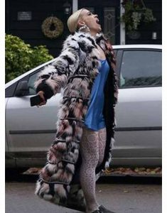 I-Hate-Suzie-Billie-Piper-Black-&-White-Faux-Fur-Coat