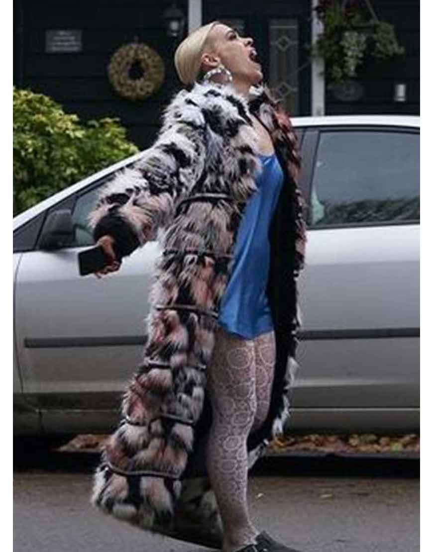 I-Hate-Suzie-Billie-Piper-Black-&-White-Faux-Fur-Coat