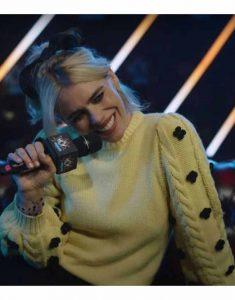 I-Hate-Suzie-Billie-Piper-Yellow-Woolen-Cardigan