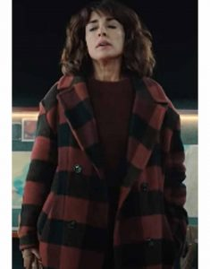 Inma-Cuesta-The-Mess-You-Leave-Behind-Raquel-Red-Plaid-Coat