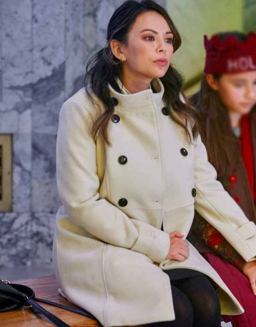 Janel-Parrish-Holly-Ivy-Melody-Double-Breasted-Coat