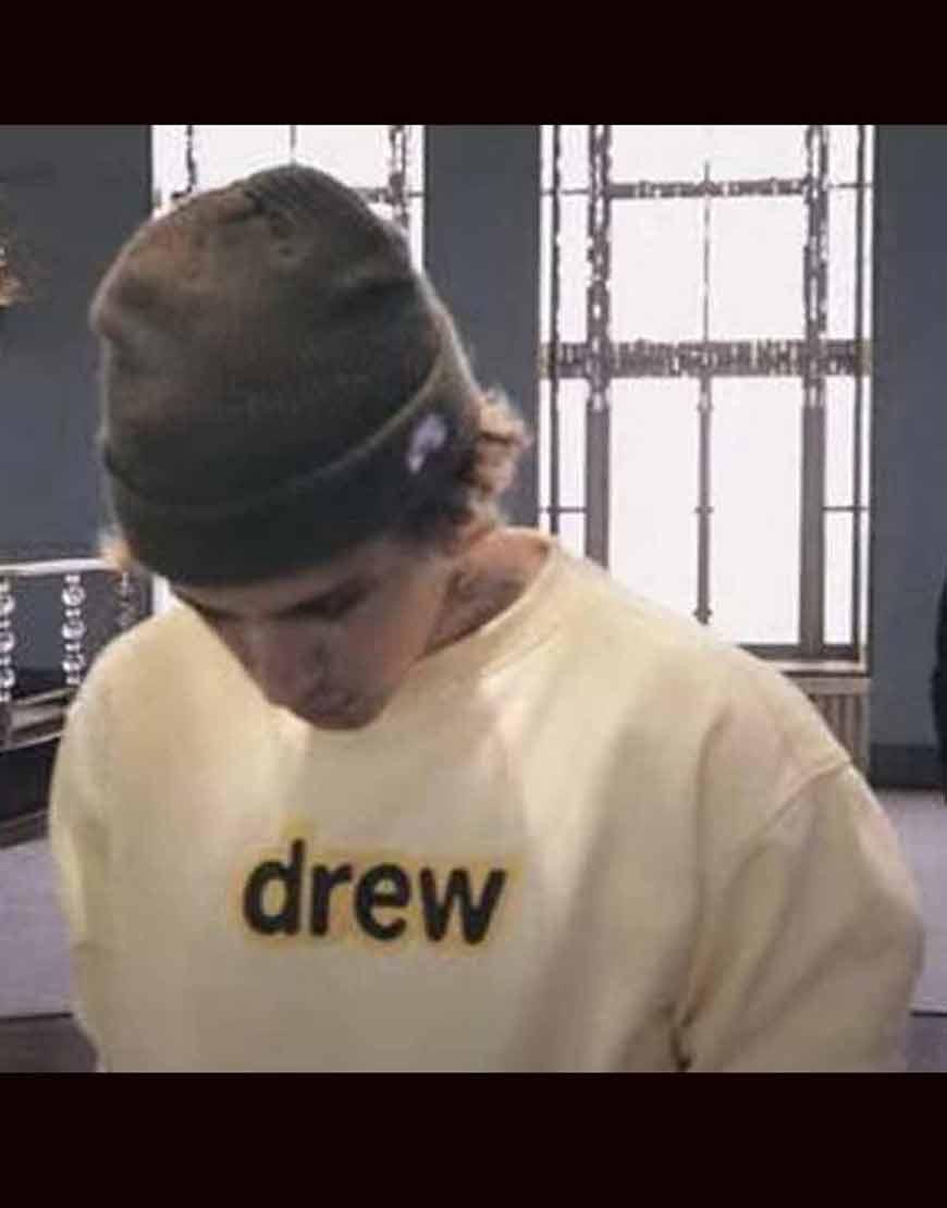 Justin-Bieber-Holy-Acoustic-Drew-Printed-Sweatshirt