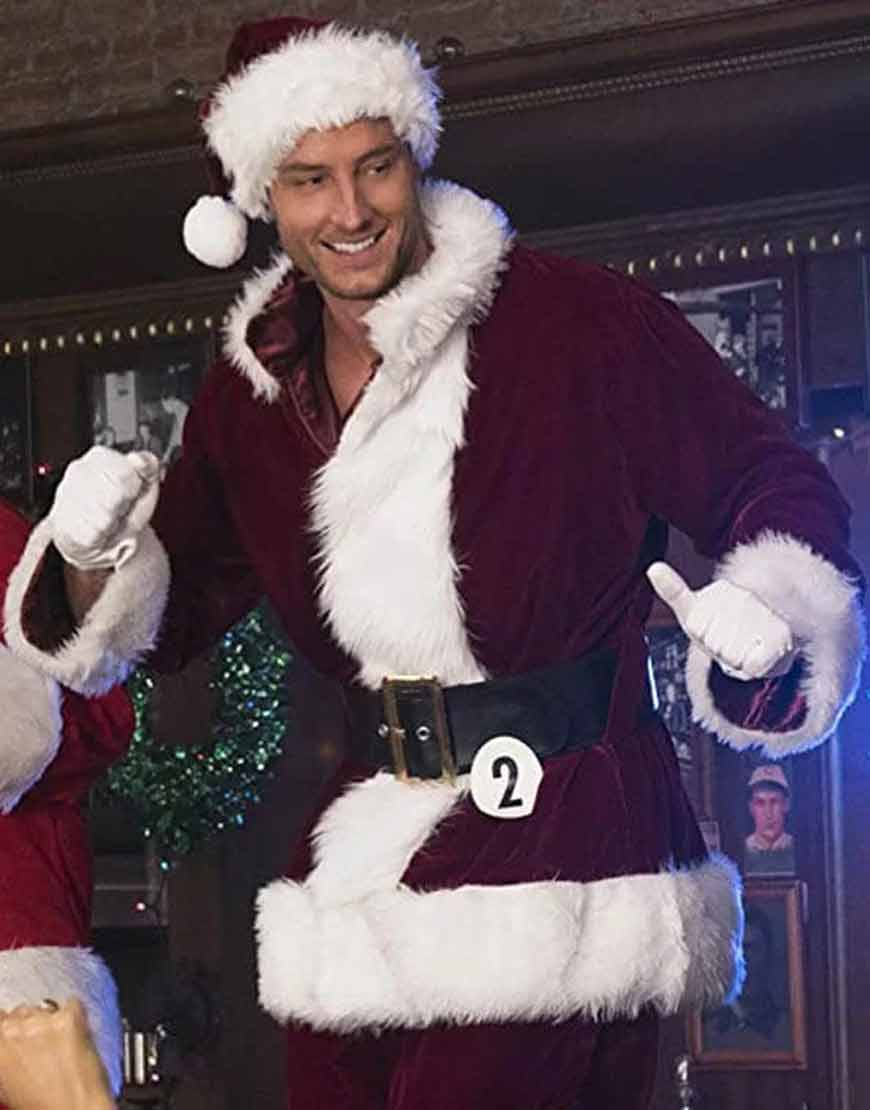 Justin-Hartley-A-Bad-Moms-Christmas-Red-Santa-Costume-Jacket