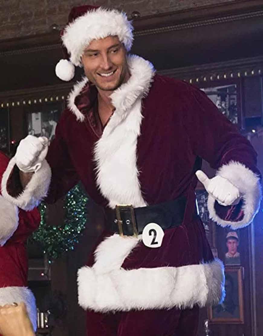 Justin-Hartley-A-Bad-Moms-Christmas-Red-Santa-Costume-Jacket