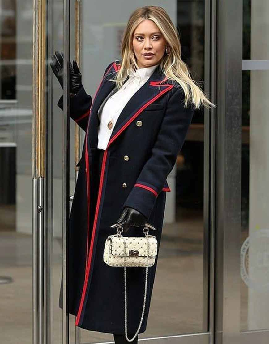 Kelsey-Younger-Hilary-Duff-Season-7-Woolen-Coat