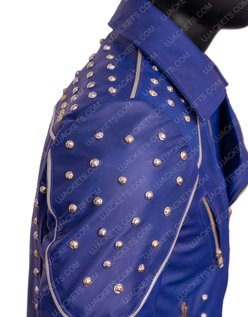 King Ben Disney Descendants 2 Mitchell Hope Blue Jacket