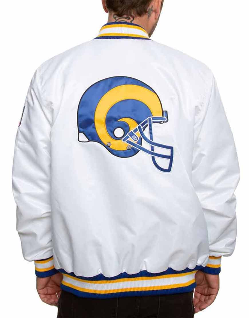 Los-Angeles-Rams-Sleeves-White-Jacket