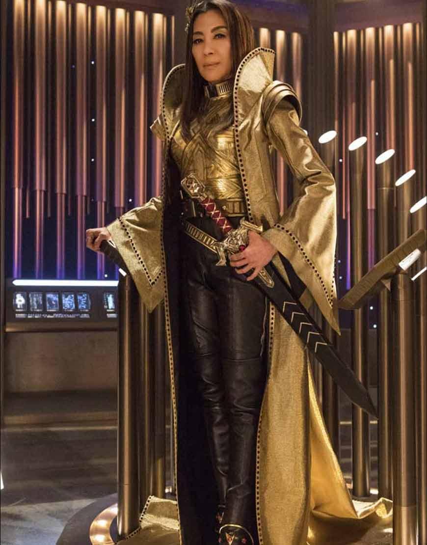 Michelle-Yeoh-Star-Trek-Discovery-Emperor-Georgiou-Golden-Trench-Coat