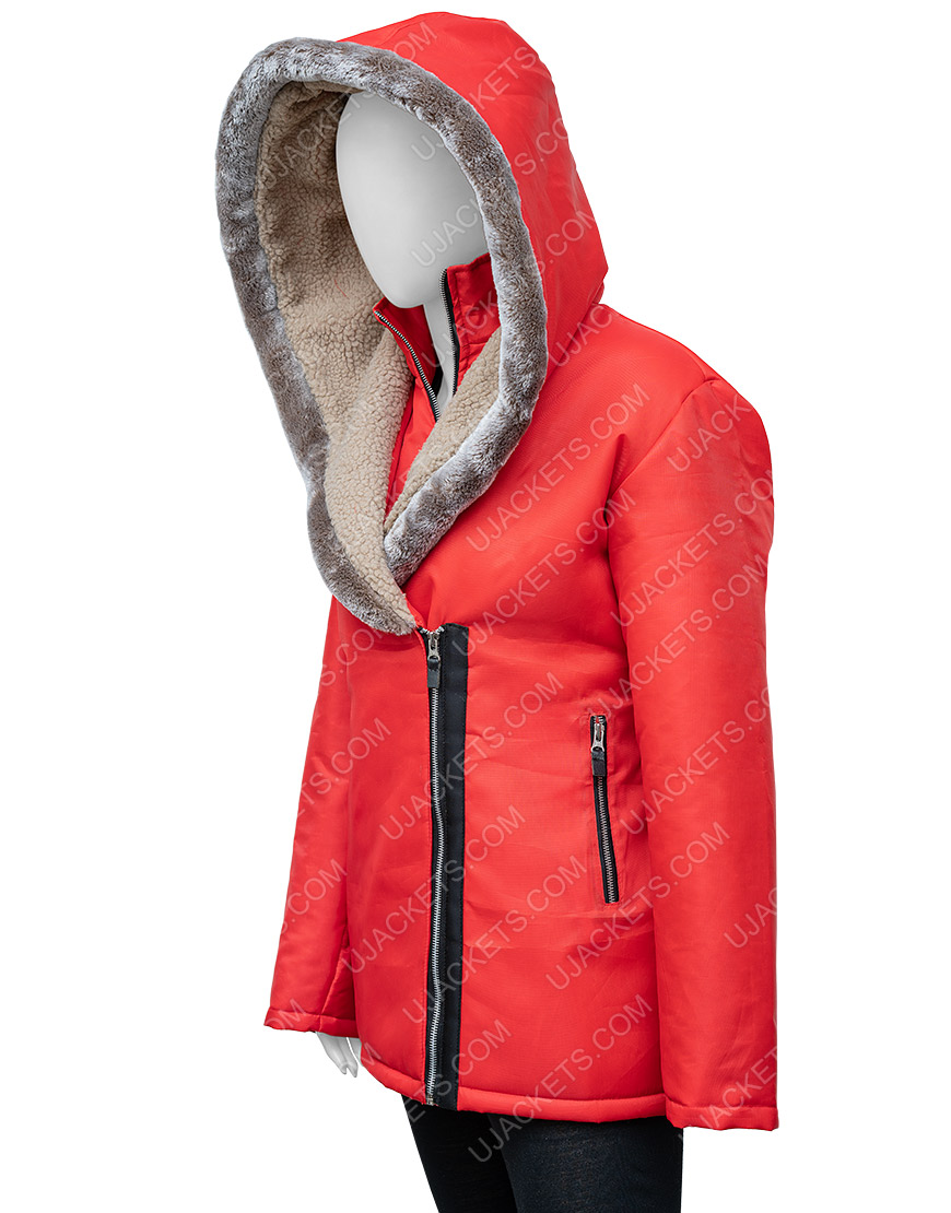 Midnight At The Magnolia Maggie Quinn Hooded Coat