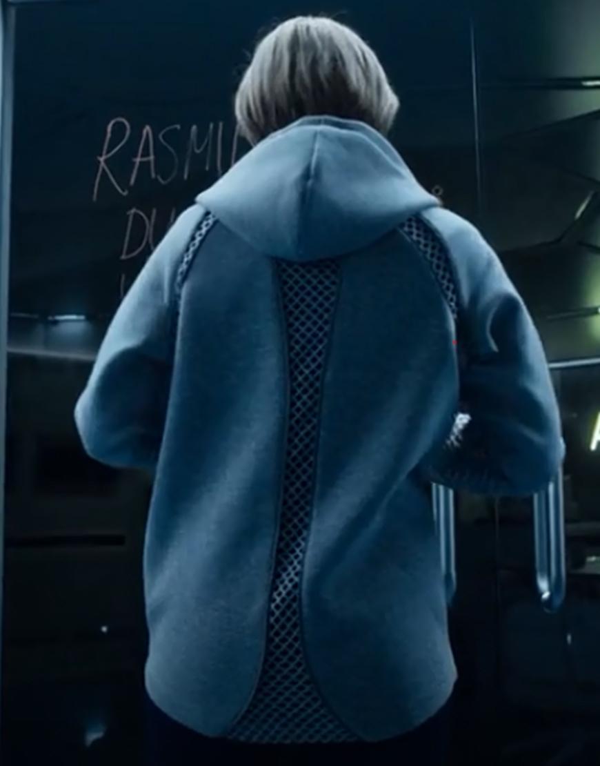 Movie The Rain Alba August Grey Hoodie