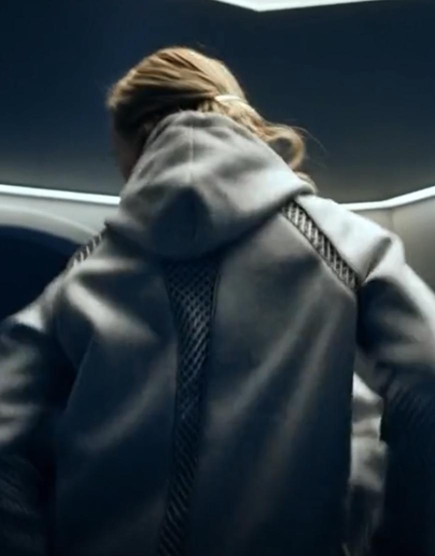 Movie The Rain Simone Andersen Grey Hoodie