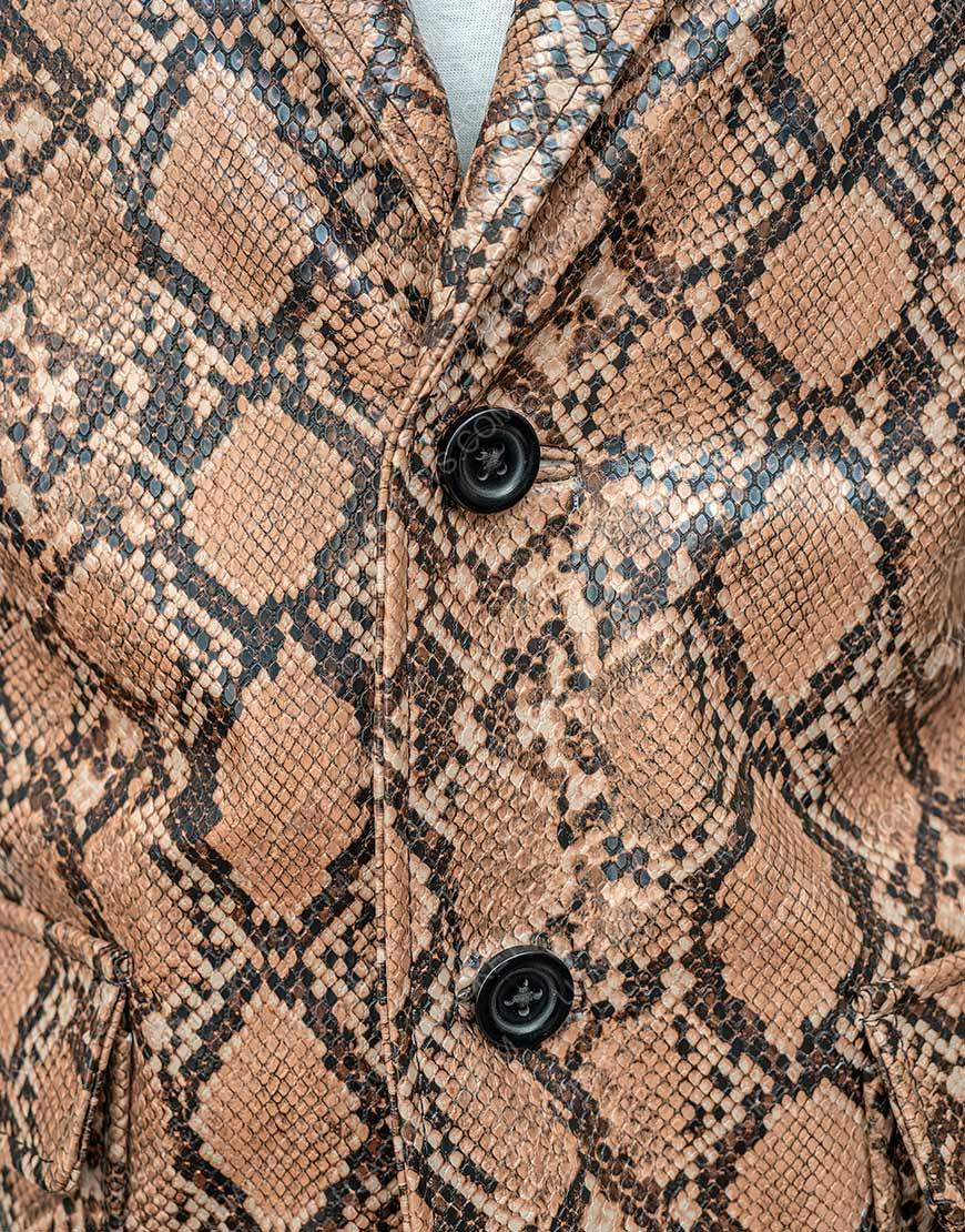 Nicolas Cage Wild at Heart Snakeskin Jacket