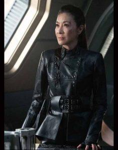 Philippa-Georgiou-Star-Trek-Discovery-S03-Michelle-Yeoh-Black-Leather-Jacket