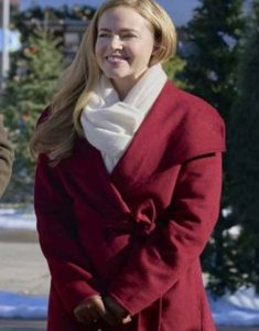 Project-Christmas-Wish-Lucy-Maroon-Belted-Coat