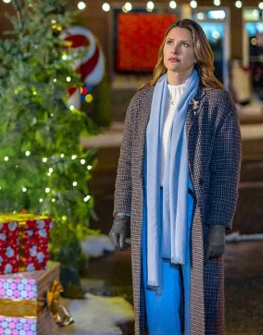 Rebecca-The-Angel-Tree-Jill-Wagner-Checkered-Coat