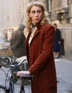 Sarah-Megan-Thomas-Brown-Trench-Coat