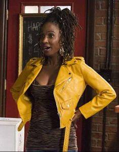 Shameless-Shanola-Hampton-Yellow-Leather-Jacket