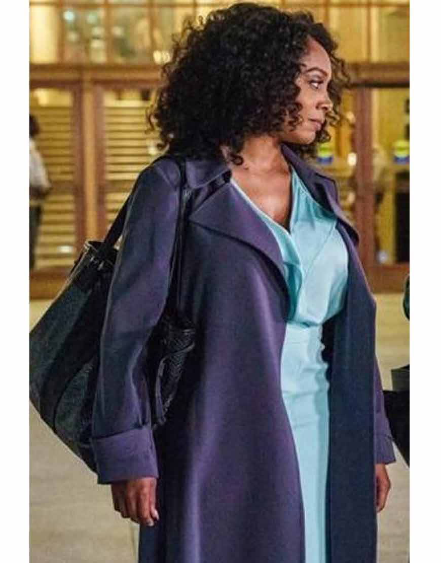 Simone-Missick-All-Rise-Belted-Coat