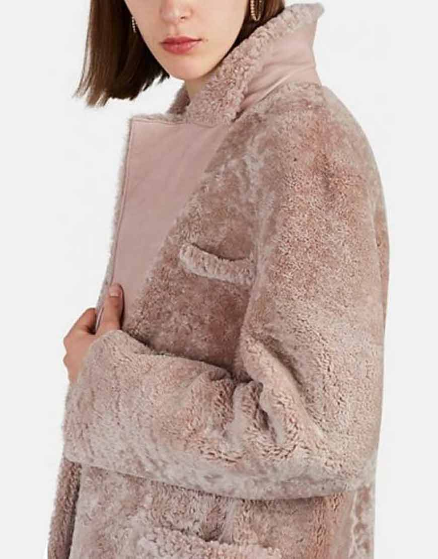 Sutton-Foster-Younger-Liza-Miller-Shearling-Coat