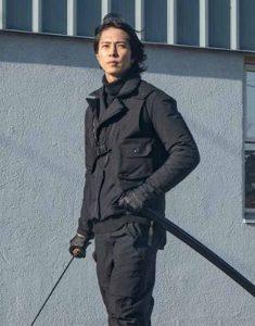 The-Man-from-Toronto-Tomohisa-Yamashita-Black-Leather--Jacket